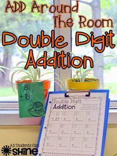 Double Digit Addition FREEBIE
