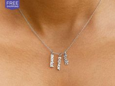 75% savings: Adorn yourself with the names that bring the most joy to your life with this gorgeous necklace that takes personalization to...