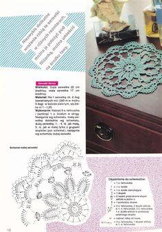 Crocheted motif no. Crochet Doily Diagram, Crochet Lace Edging, Crochet Doily Patterns, Filet Crochet, Crochet Doilies, Doily Art, Point Lace, Tatting Lace, Crochet Tablecloth