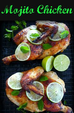 ... Chicken for weeks, combining a white rum Mojito Marinade with fresh