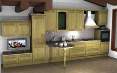 Cucina by #Scavolini #kitchen #kitchens @Sermobil #design #classic