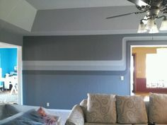 Contemporary stripes by Lezley Lynch Designs.