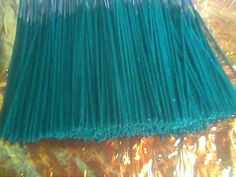 DIY How to make Incense sticks... read the comments!