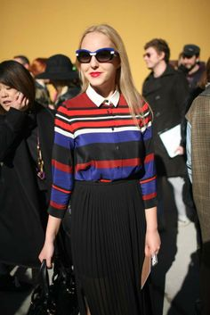 Out and about at Milan Fashion Week