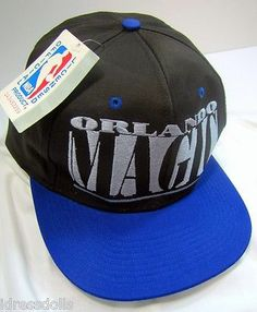 8b9b86c02ab Orlando Magic Basketball Cap NBA Hat 1990 s Era Embroidered Logo 7 Headgear