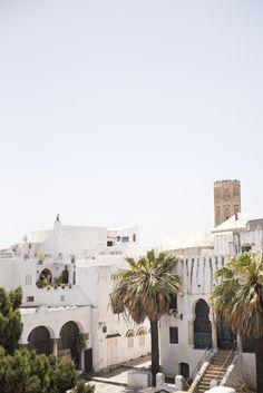 Tangier cityscape