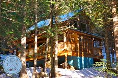 Cabins and lodges in Rockies are calling: Enjoy some magnificent mountain time right at your doorstep Lodges, Cabins, Rustic, House Styles, Travel, Woods, Home, Design, Country Primitive