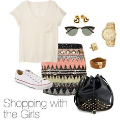 """""""Shopping with the Girls"""" by anna-fannin on Polyvore"""