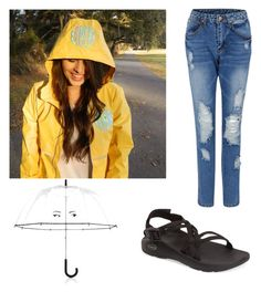 """""""Rainy dayz"""" by legitmaddywill on Polyvore featuring Kate Spade and Chaco"""