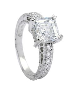Beautiful. This would match my diamond wedding band I'm hoping to get someday <3