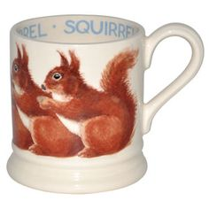 Emma Bridgewater Animals Squirrel 1/2 Pint Mug