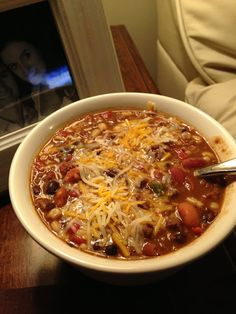 Walkin' in Memphis with the Watsons!: Santa Fe Soup - This is so good! Mexican Food Recipes, Crockpot Recipes, Soup Recipes, Cooking Recipes, Dinner Recipes, Mexican Dishes, Sweets Recipes, Chili Recipes, Diabetic Recipes
