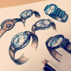 watch sketch by Chris Grill
