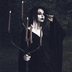 Model/ Photo/ MUA: @darya_goncharova_  Dress: @DarkinCloset   Welcome to #GothicandAmazing
