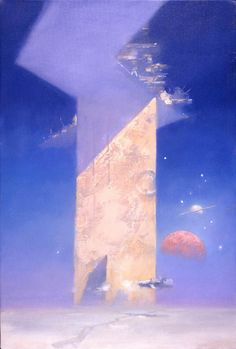 The Grand Tour (Illustrator - John Harris) Fantasy Kunst, Fantasy Art, Sci Fi Kunst, Grand Tour, Science Fiction Kunst, Psychedelic Space, Arte Sci Fi, 70s Sci Fi Art, Backgrounds