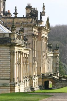 Castle Howard ~ North Yorkshire is one of the grandest private residences in Britain, most of it was built between 1699 and 1712 for the 3rd Earl of Carlisle, to a design by Sir John Vanbrugh.