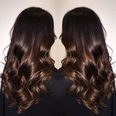 Are you going to balayage hair for the first time and know nothing about this technique? We've gathered everything you need to know about balayage, check! Brown Hair Shades, Light Brown Hair, Brown Hair Colors, Dark Hair, Red Hair, Bronde Hair, Brown Hair Balayage, Brown Hair With Highlights, Hair Beauty