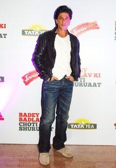 Shahrukh Khan at The Tata Tea Jaago Re Press Conference.