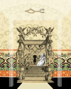Illustration remix by Craig Bowers.. The Pool of Tears — Alice's Adventures In Wonderland — Medium