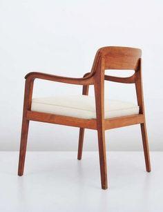 Edward Wormley; 'Riemerschmid' Armchair, c1965.