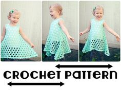 PDF Crochet Pattern for Chloe Summer by AdorkableCrochet on Etsy, $5.50