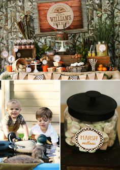 Rustic Duck Hunting Birthday Party