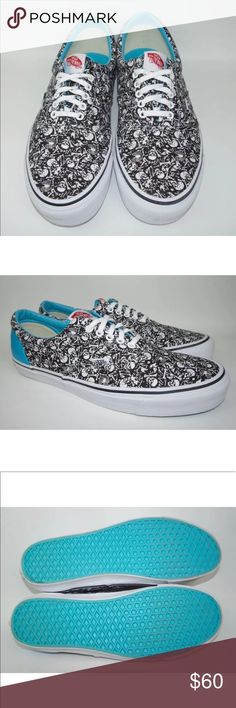 9aa290ba2fe5fd Stussy x Vans mens 13 skulls limited edition shoes