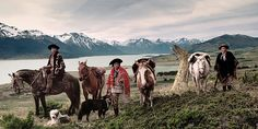 Credit: Jimmy Nelson Gauchos, Argentina: the Argentinian pampas – rolling terrains of grasses, flowers and herbs – are the ...