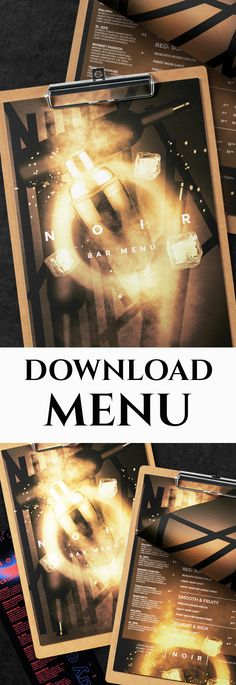 Drinks Menu  #bar #beverage #black #blackboard #brink #business #cafe #cafemenu #chalkboard #classy #clean #cocktail #coffee #elegant #fastfood #flyer #food #italian #italy #menudesign #modern #pizza #printtemplate #restaurant #retro #template