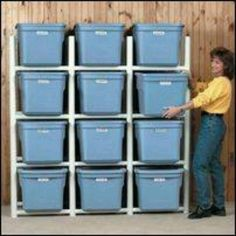 Pvc pipe tote holders