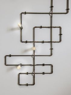Be creative with Sistema Canaline by Il Fanale Craftsmanship and customization are embodied in Sistema Canaline: this lighting system, available both in brass and antiqued brass, thanks to its modularity allows plenty of lighting solutions. Lighting System, Lighting Solutions, Antique Brass, Antiques, Creative, Interior, Arch, Home Decor, Antiquities