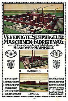 VSM Vereinigte Schmirgel- und Maschinen-Fabriken – Wikipedia