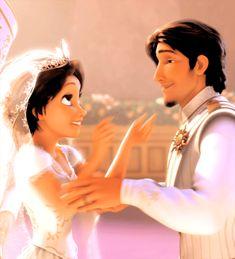 Rapunzel y Flynn Rider Disney Rapunzel, Rapunzel E Eugene, Rapunzel And Flynn, Princess Rapunzel, Tangled Rapunzel, Flynn Rider And Rapunzel, Disney Couples, Disney Love, Disney Magic