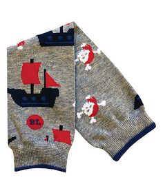Another great find on #zulily! Gray Ships Leg Warmers #zulilyfinds