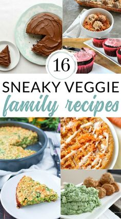 Give one of these Hidden Veggie Recipes a try, and sneak vegetables into  your family's dinner. Add extra vegetables that even picky eaters won't  notice.