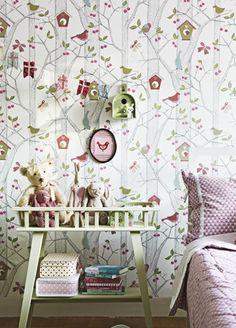 Lilleby kids wallpaper from Borastapeter