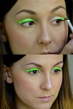 Bold Neon Eyeliner https://www.makeupbee.com/look.php?look_id=55185