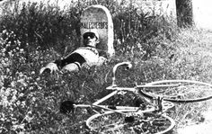 """Tour de France 1971. Roberto Ballini (1944), quando il caldo """"dà alla testa""""..."""