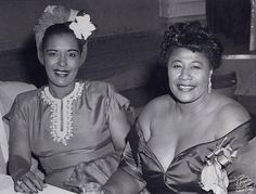 It doesn't get any better than this: Billie Holiday and Ella Fitzgerald