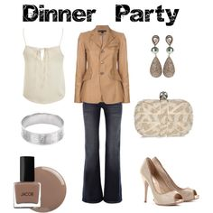 Dinner Party, created by jesshehr on Polyvore