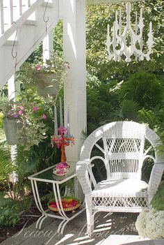 A lazy day on the the patio by teacup mosaics, via Flickr