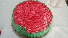 #red #flower. #cakedesign #cakww #sweet Birthday Cake, Sweet, Creative, Desserts, Flowers, Red, Candy, Tailgate Desserts, Birthday Cakes