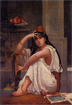 Tema da Pintura: Uma Beleza Oriental!