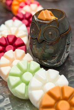 Look who flew into #PartyLite for fall - ScentGlow Warmer Sage Owl.