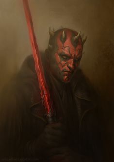 An attempt at medieval fantasy version of Darth Maul, hope you guys enjoy it.