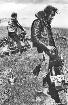 bikers elkhorn, 1965