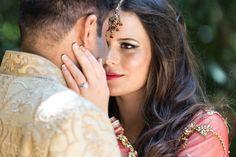 #bridal #makeup #blackandgold #tikka #indian #wedding