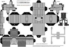 Doctor Who Custom Cubeecraft Templates by CyberDrone on deviantART