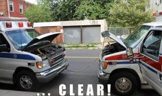 A little EMS humor!  shared by New York Firestore.