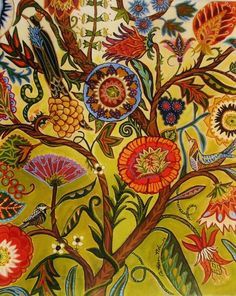 The Living Tree by Catherine Nolin Fine Art Repro. Available on Etsy Tree Of Life Art, Tree Art, Motif Floral, Arte Floral, Art And Illustration, Illustrations, Art Design, Art Reproductions, Art Nouveau